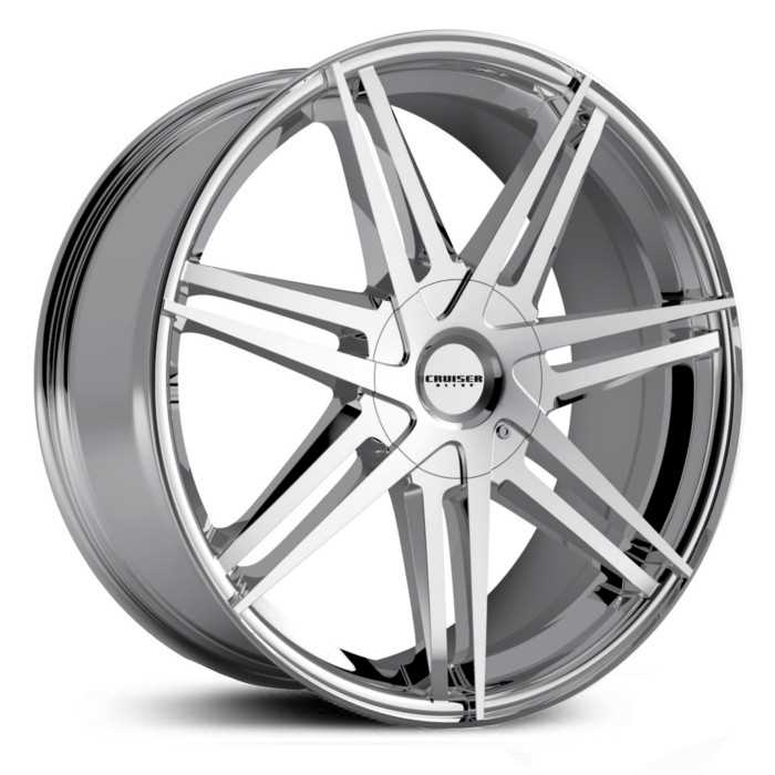 Cruiser Alloy 919C Enigma  Wheels Chrome