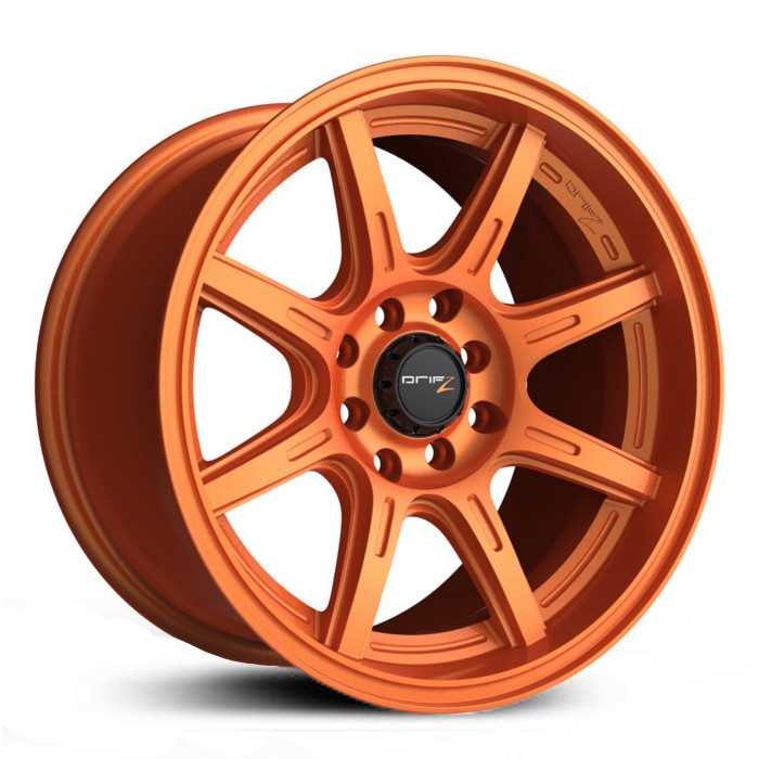 Drifz 308OR Spec-R  Wheels Gloss Orange