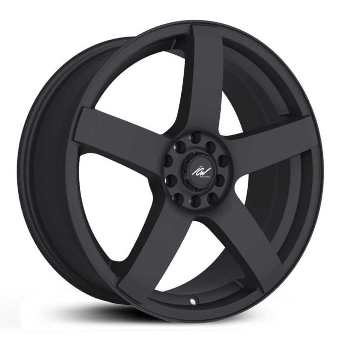 ICW Racing 216B Mach 5  Wheels Satin Black