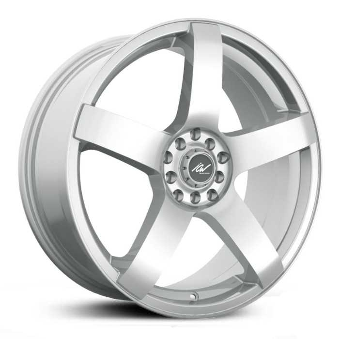 ICW Racing 216S Mach 5  Wheels Titanium Silver