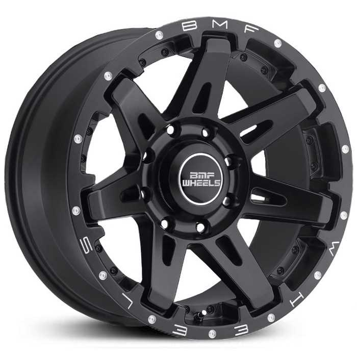 SOTA Offroad 568SB B.A.T.L.  Wheels Stealth Satin Black w/ Machined Lip Accents