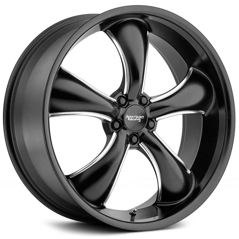 American Racing AR912 TT60 Satin Black Milled