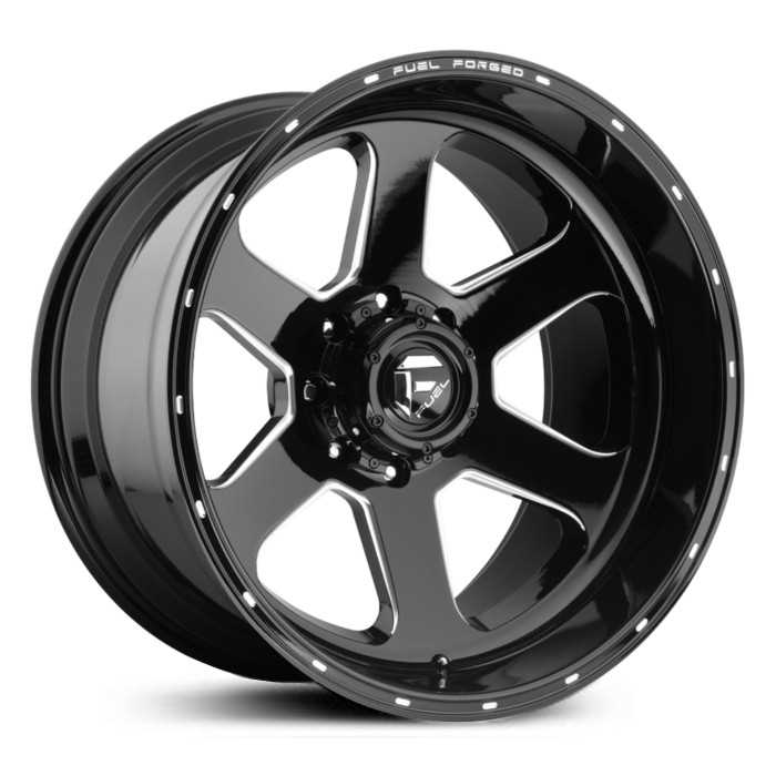 Fuel Forged FFC27 Forged Concave  Wheels Black Milled