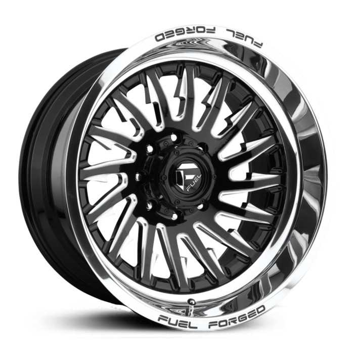 Fuel Forged FFC30 Forged Concave  Wheels Black Milled