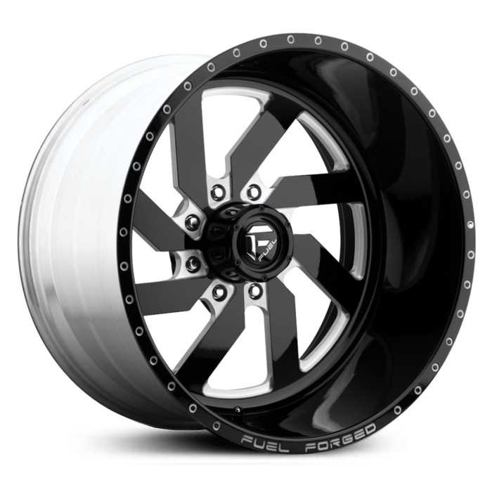 Fuel Forged FF03 Forged  Wheels Black Milled