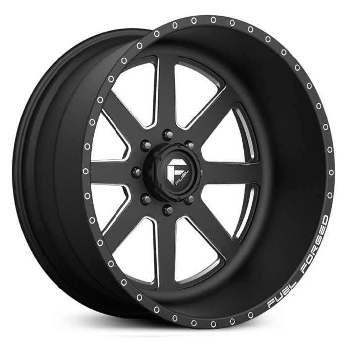 Fuel Forged FF09 Forged  Wheels Black Milled