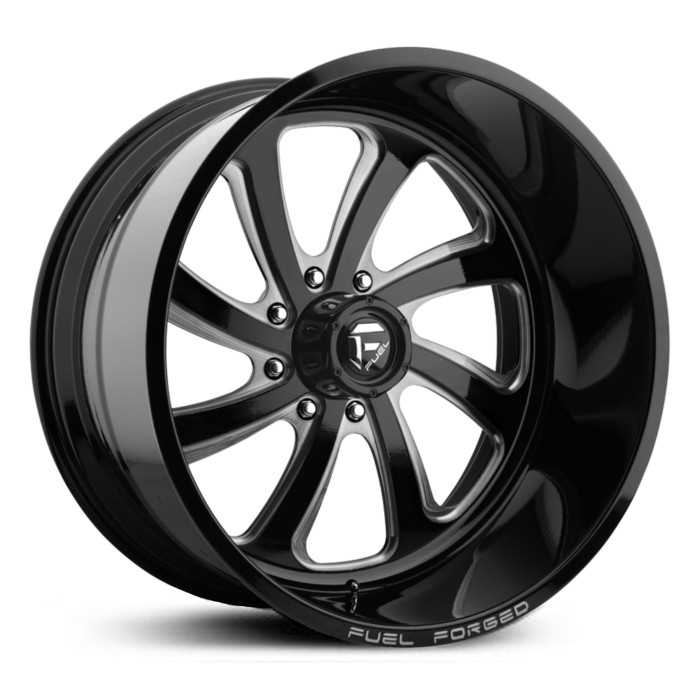 Fuel Forged FF12 Forged  Wheels Black Milled