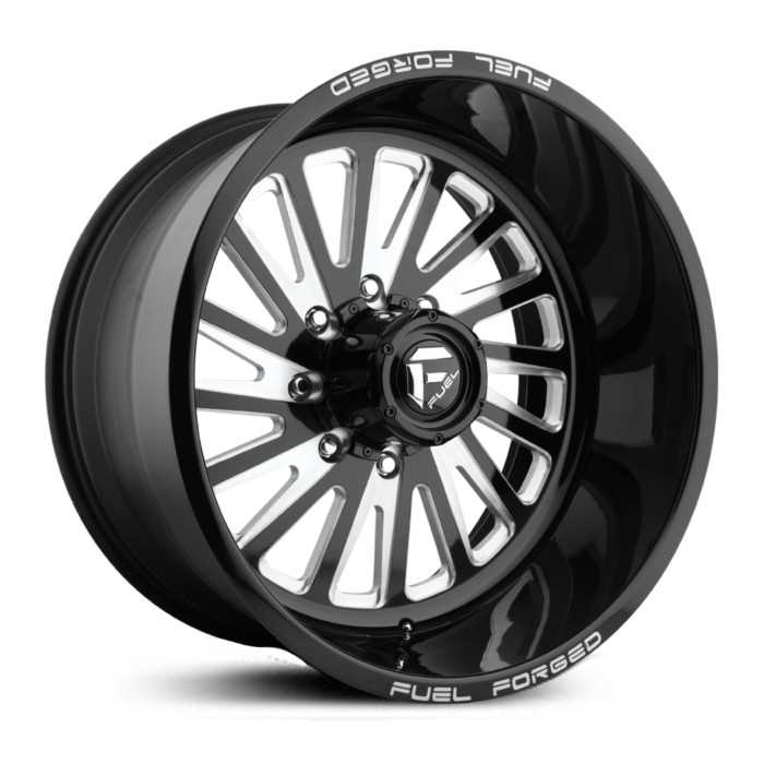 Fuel Forged FF16 Forged  Wheels Black Milled