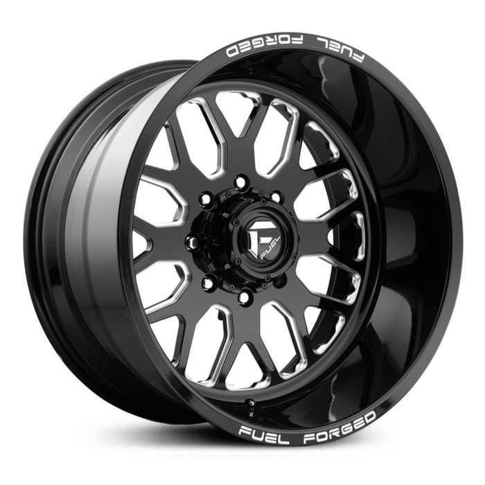 Fuel Rims 20X12 >> 20x12 Fuel Forged Ff19 Black Milled Rev
