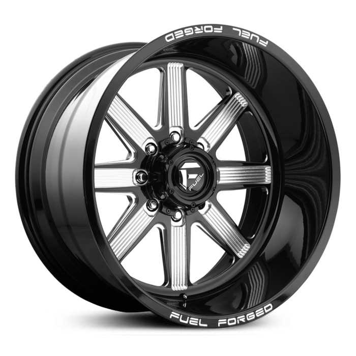 Fuel Forged FF20 Forged  Wheels Black Milled