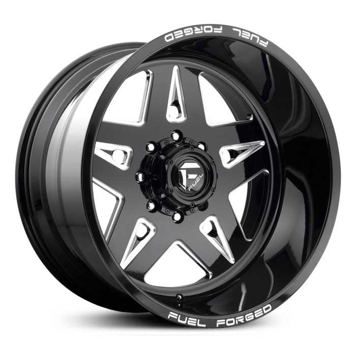 Fuel Forged FF21 Forged  Wheels Black Milled