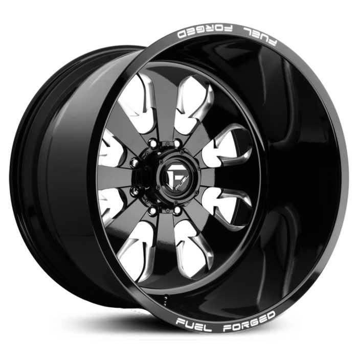 Fuel Forged FF24 Forged  Wheels Black Milled