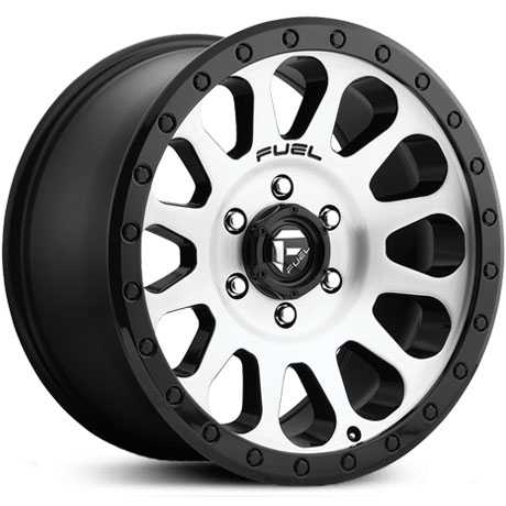 D580 Vector Gloss Black Machined Face