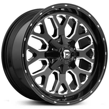 D588 Titan Gloss Black Milled