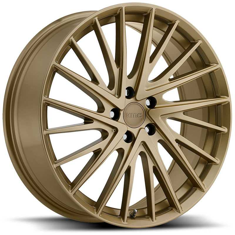 KMC KM697 Newton  Wheels Gold