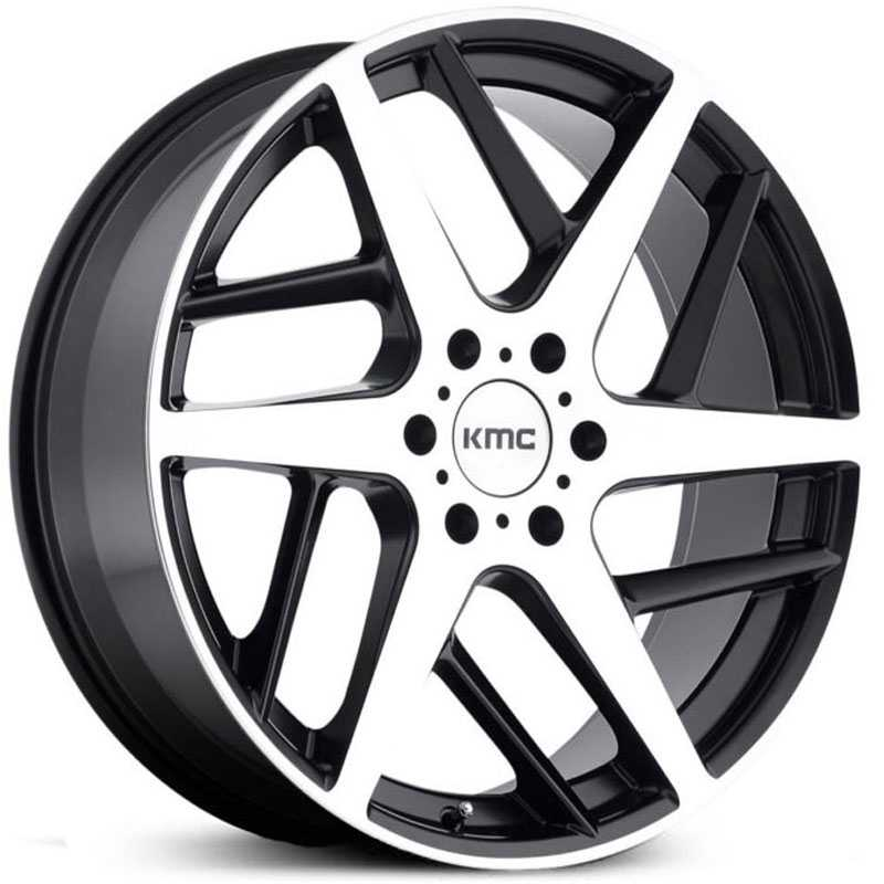 KMC KM699  Wheels Satin Black Machined