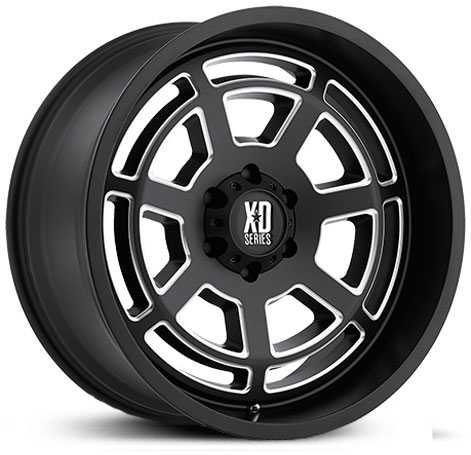 XD Series XD824 Bones Satin Black Milled
