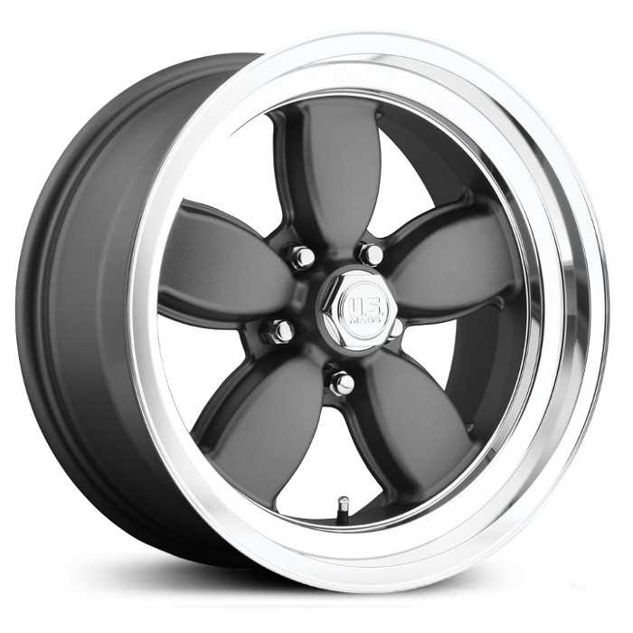 US Mags U115 200S  Wheels Silver Machined