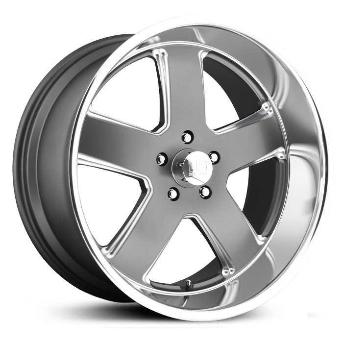 Black And Silver Mags >> US Mags U116 Hustler Wheels & Rims