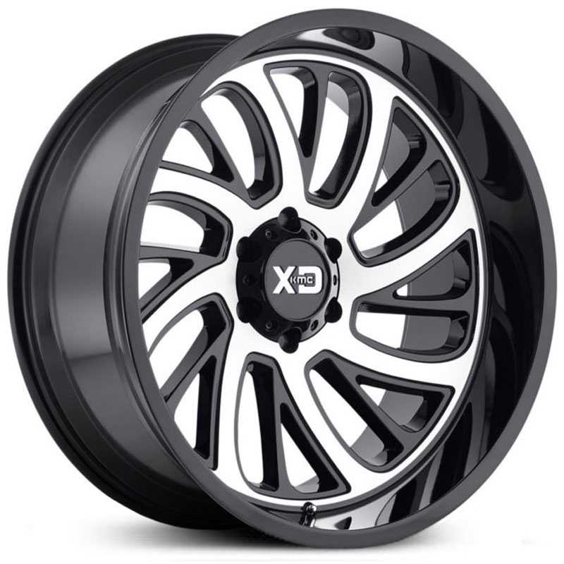 KMC XD Series XD826  Wheels Gloss Black Machined
