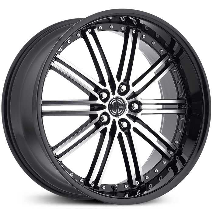 2Crave No 33  Wheels Gloss Black Machined