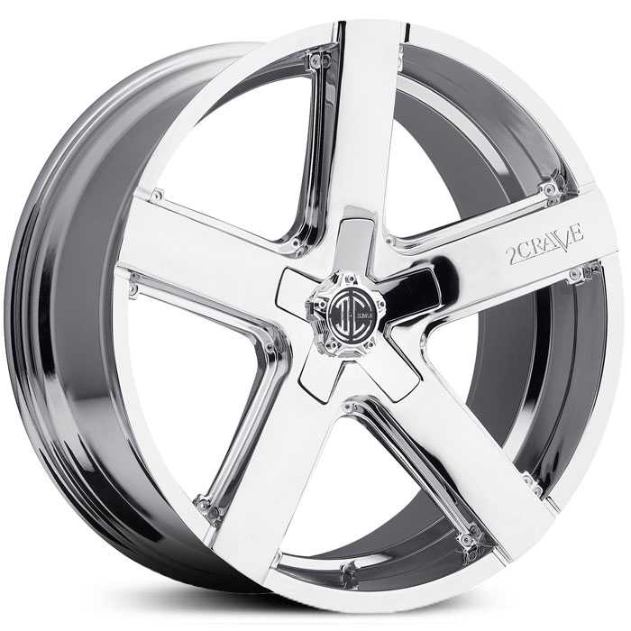 2Crave No 35  Wheels Chrome