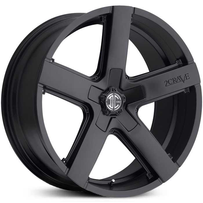 2Crave No 35  Wheels Satin Black