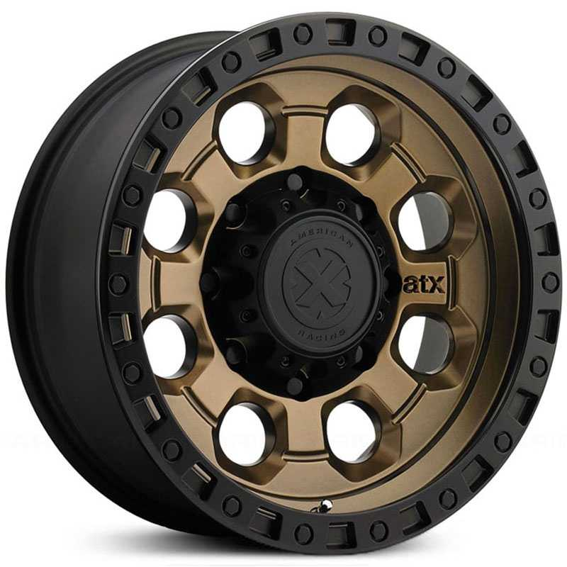 ATX Series AX201  Wheels Bronze w/ Black Lip