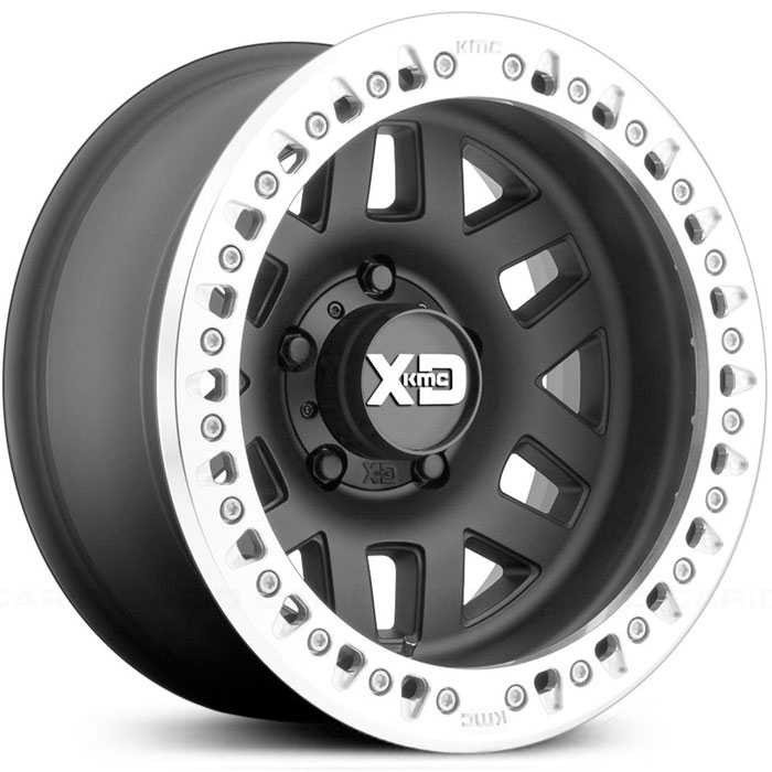 XD Series XD229 Machete Crawl -Offroad ONLY  Wheels Satin Black w/ Machined Bead Ring