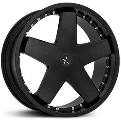 Starr 388 Judge  Wheels Matte Black