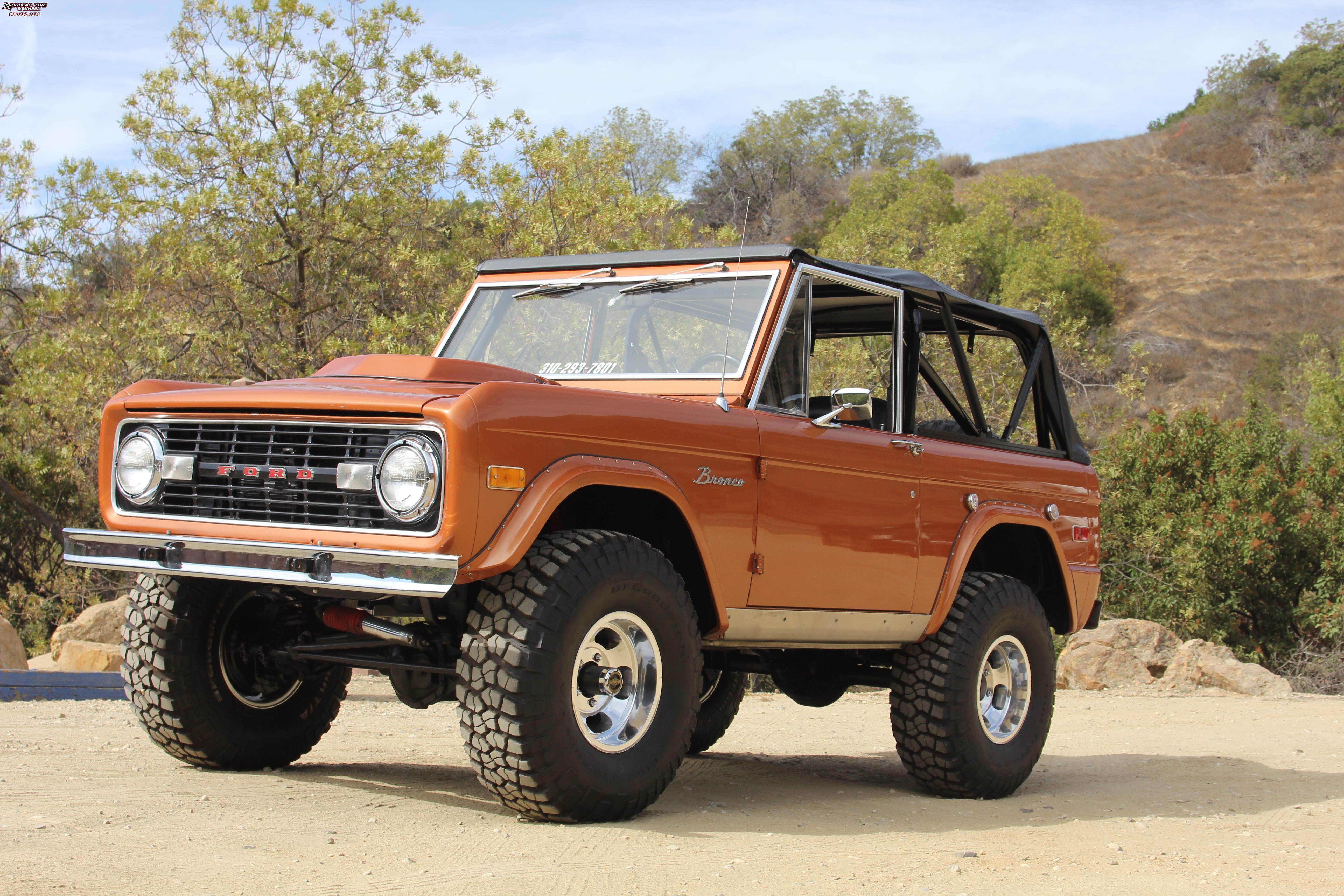 Ford bronco us mags indy u101 truck 15x9 polished wheels and rims