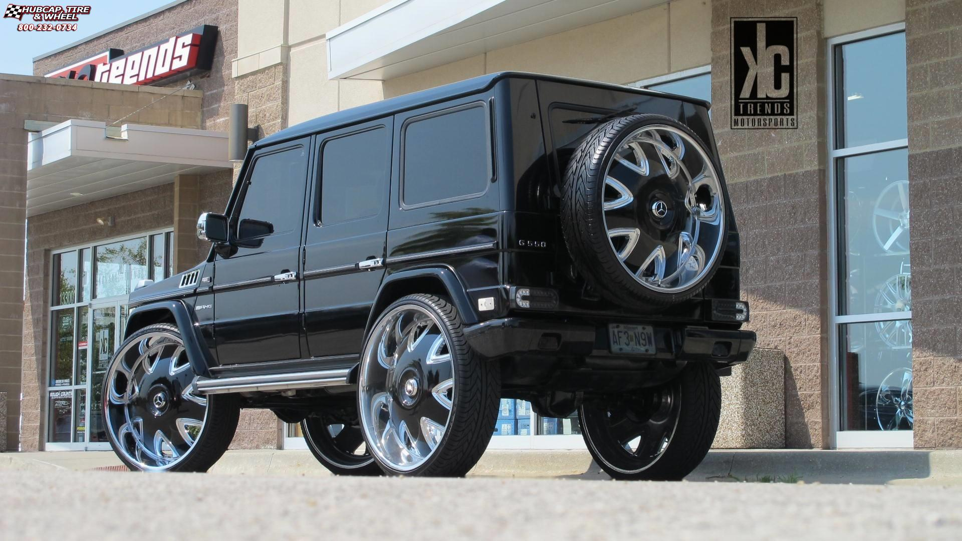 Mercedes-Benz G-Wagon Dub Bandito - S136 Wheels Chrome