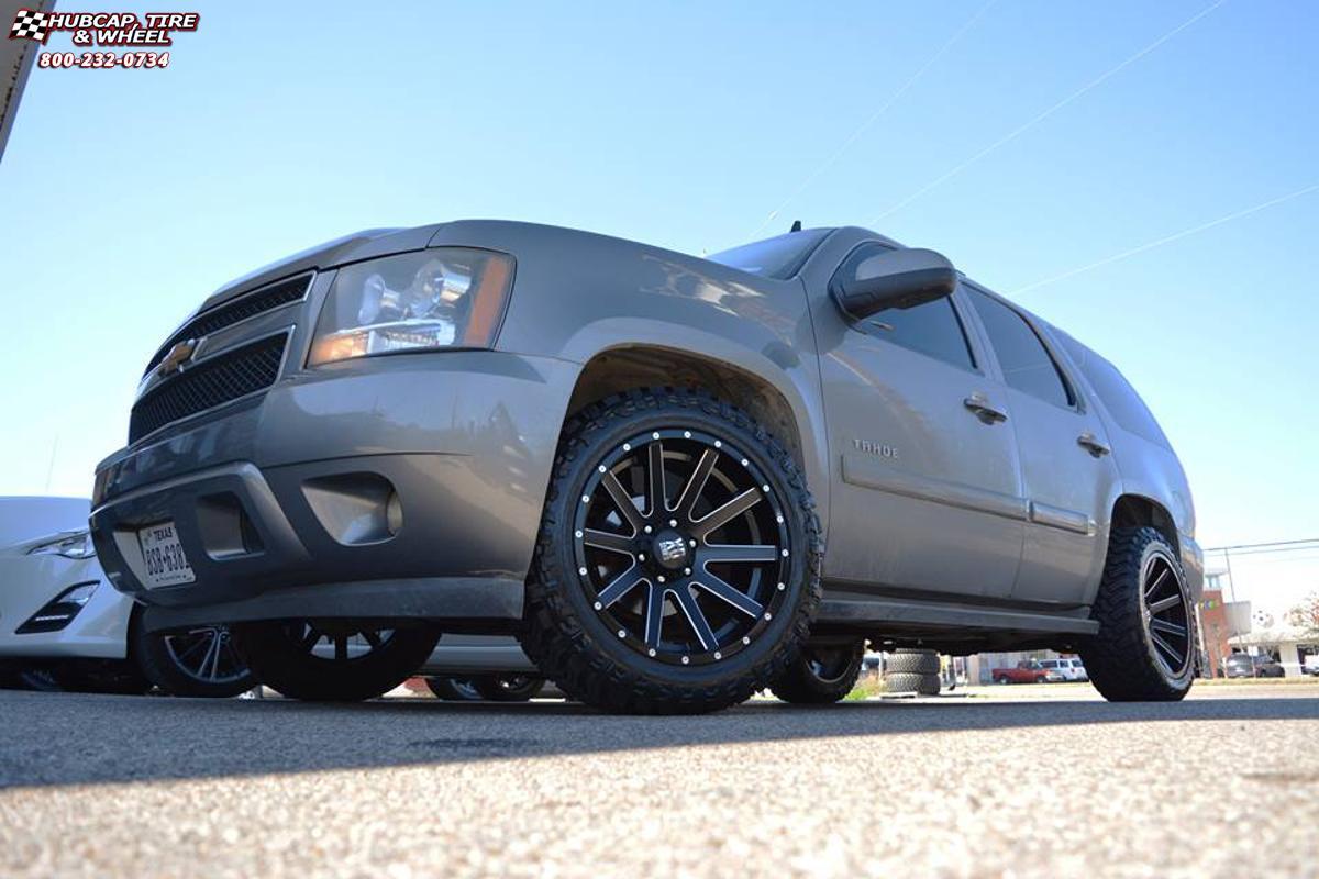 Chevrolet Tahoe Xd Series Xd818 Heist Wheels