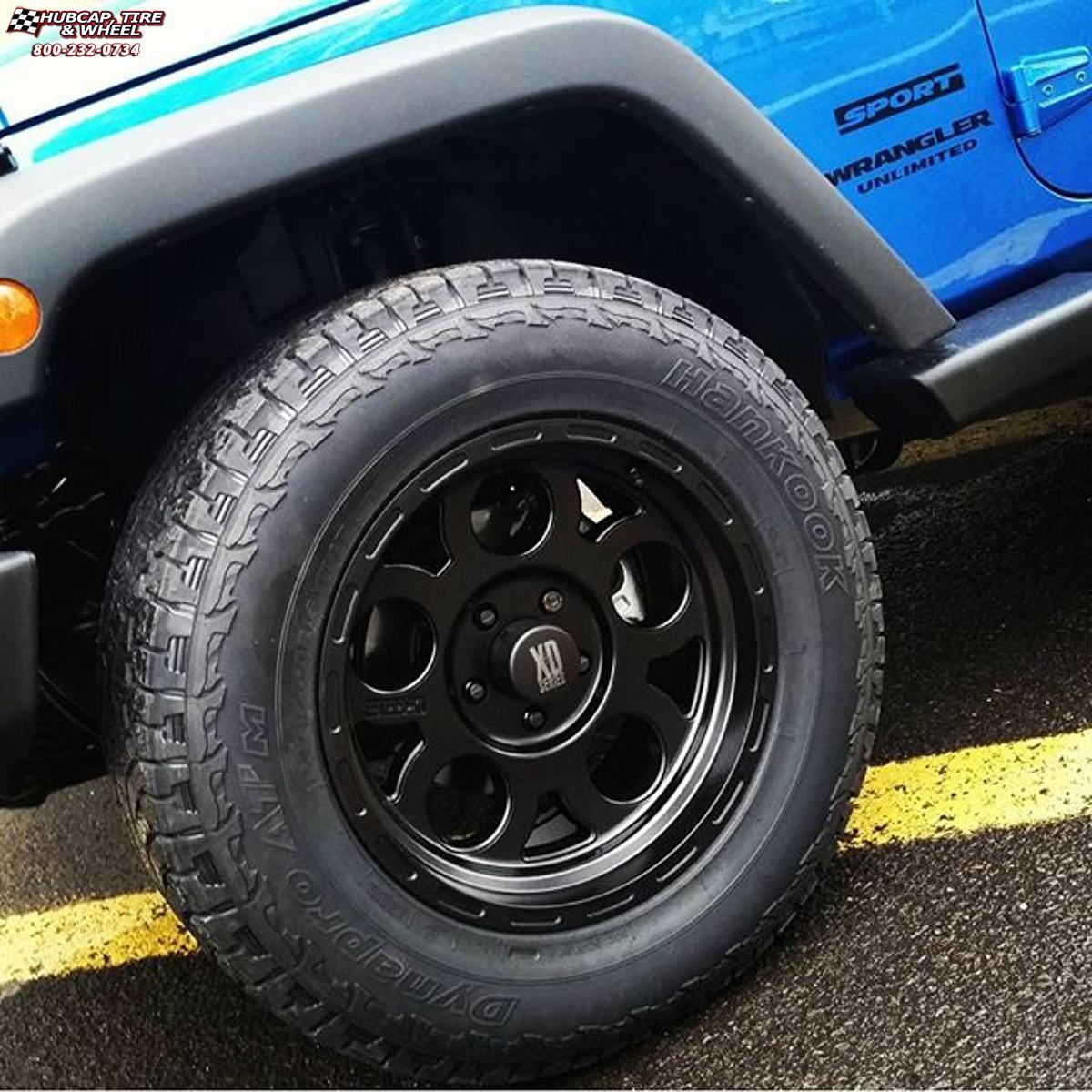 Jeep Wrangler Xd Series Xd122 Enduro Wheels Matte Black