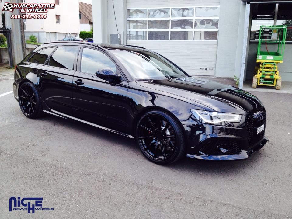 Audi Rs6 Niche Essen M147 Wheels Matte Black