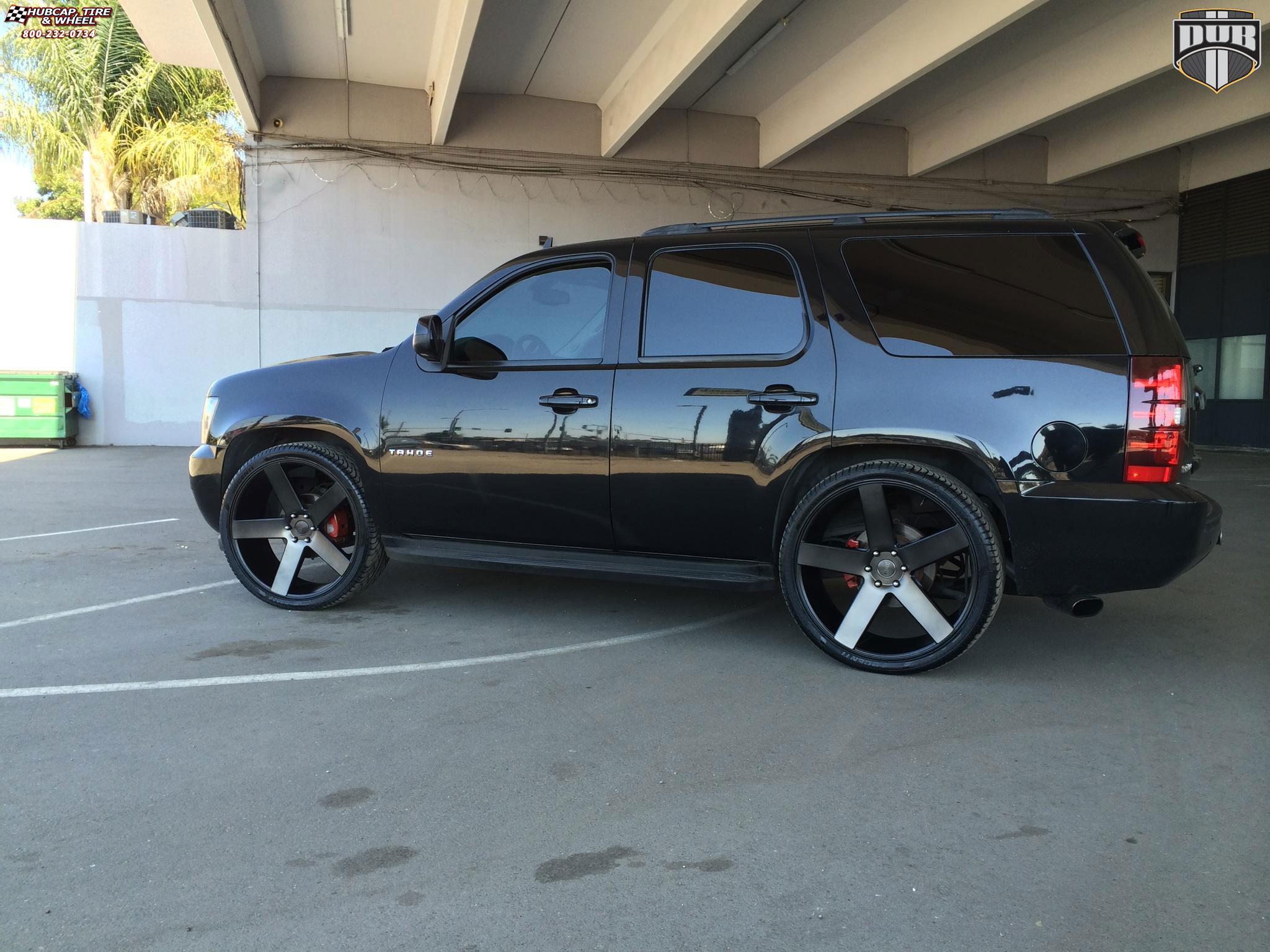 Chevy Blazer 2015 >> Chevrolet Tahoe Dub Baller - S116 Wheels Black & Machined ...