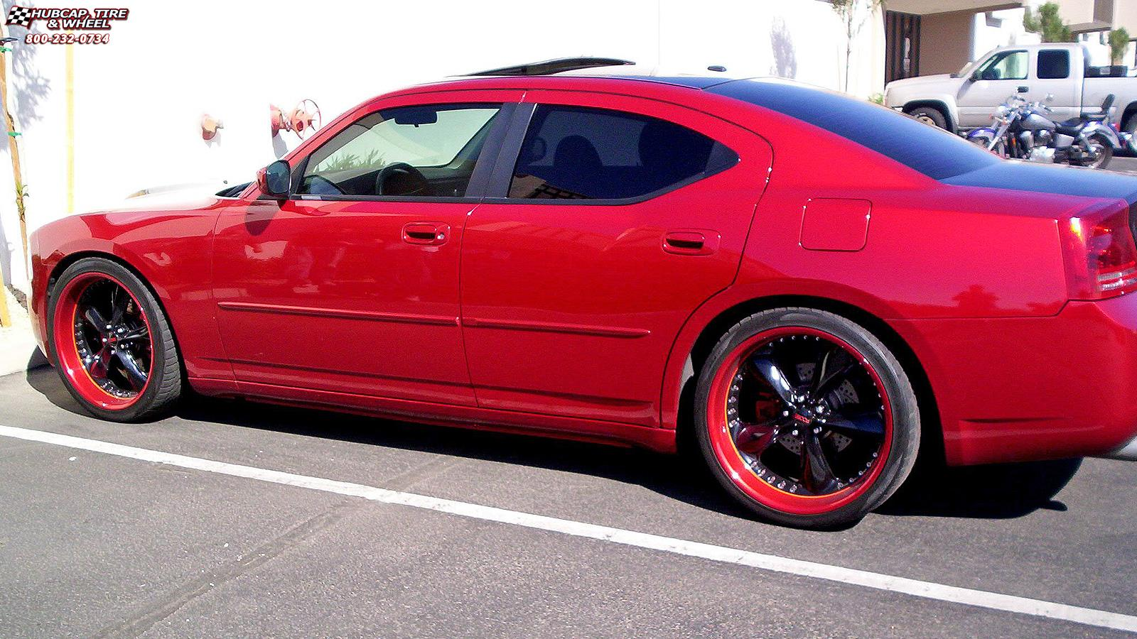 2008 Dodge Charger Foose Nitrous Se F300 Wheels Chrome
