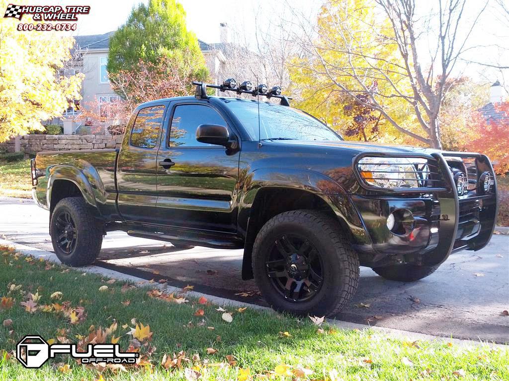 Toyota Tacoma Fuel Pump D515 Wheels Matte Black