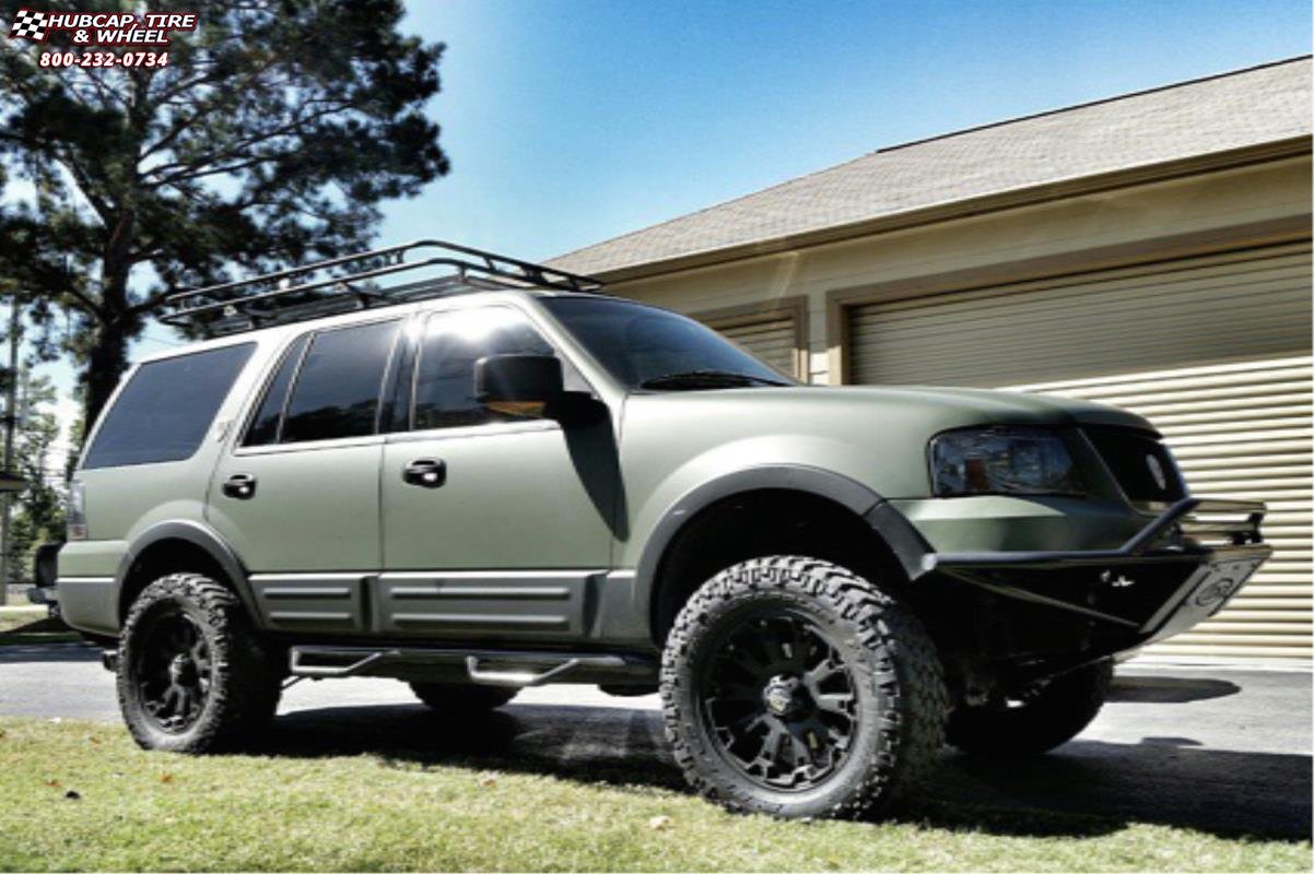 Ford expedition xd series xd800 misfit matte black wheels and rims