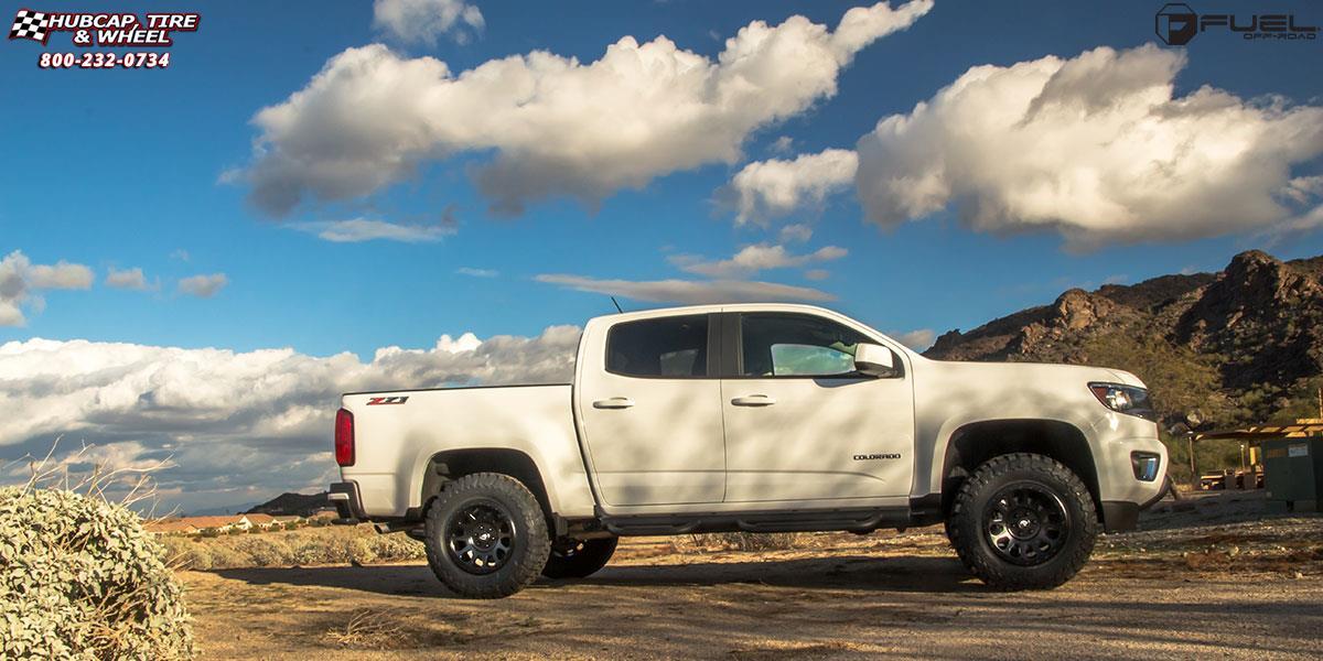 Chevrolet Colorado Fuel Vector D579 Wheels Matte Black