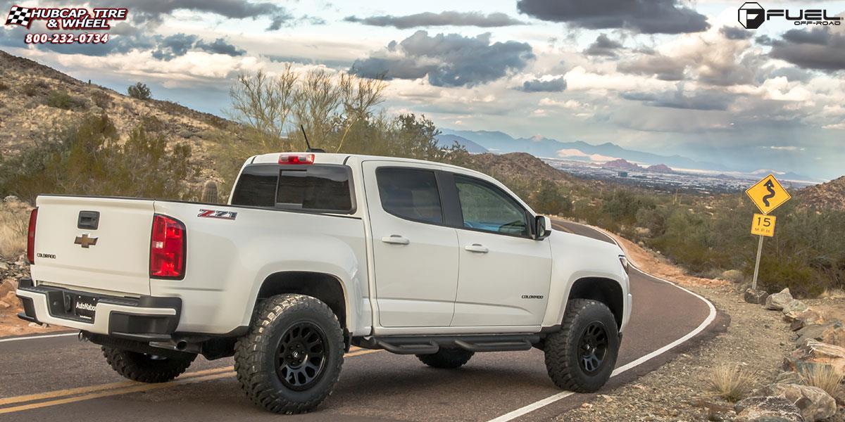 2017 Chevy Colorado Diesel >> Chevrolet Colorado Fuel Vector D579 Wheels Matte Black