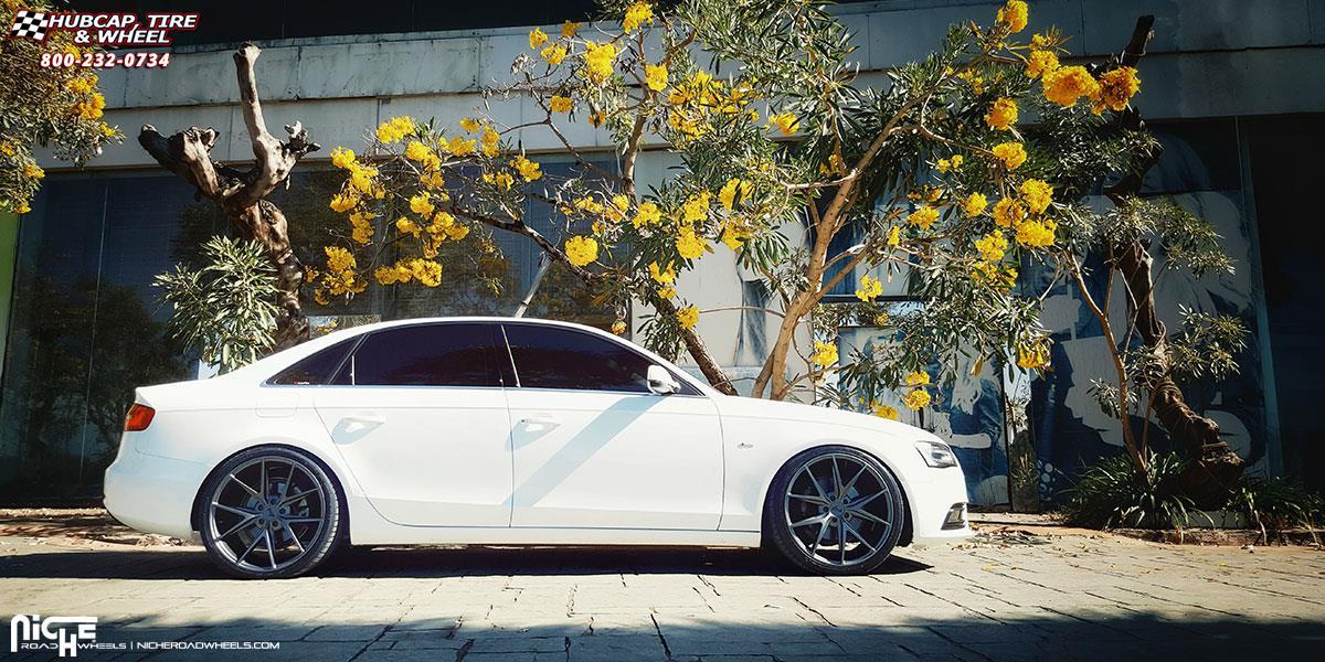Audi A4 Niche Misano M116 Wheels Anthracite