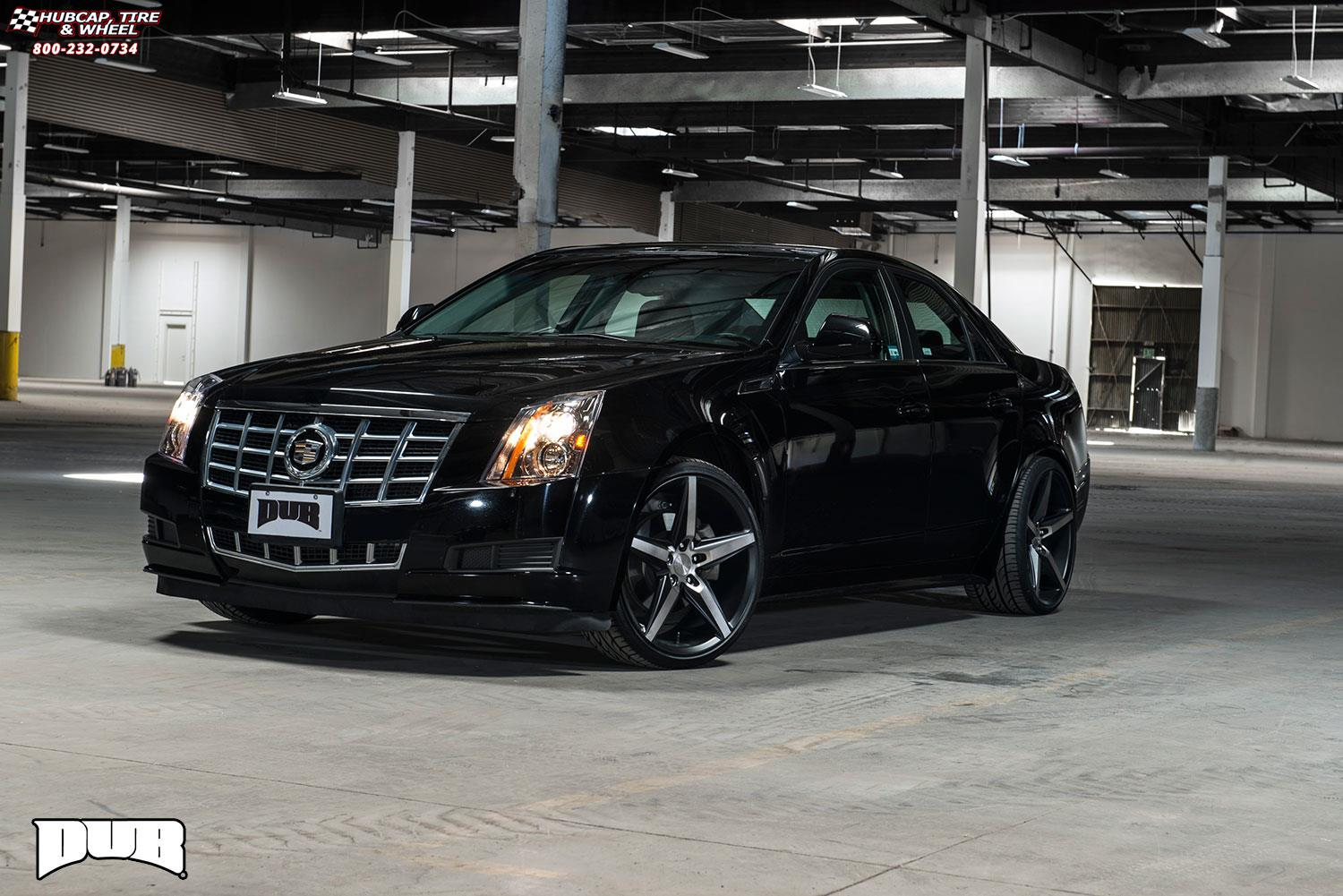 Cadillac Cts Dub Lace S119 Wheels Black Amp Machined With