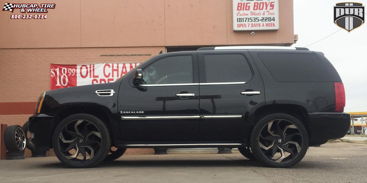 cadillac escalade dub sleeper  s125 wheels black