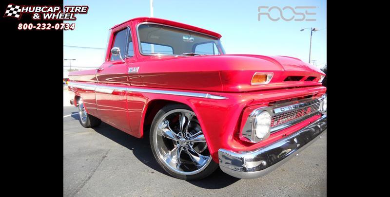 1963 Chevrolet C-10 Foose Legend F105 Wheels Chrome