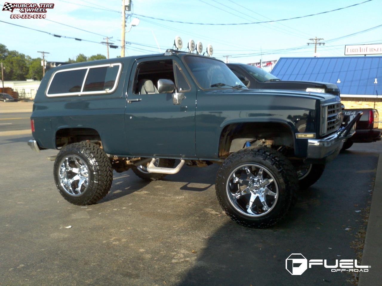 Chevrolet Blazer Fuel Octane D508 Wheels Chrome