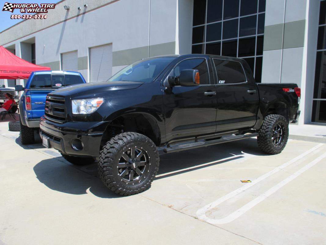 2006 Toyota Tundra Moto Metal MO962 Wheels Gloss Black ...