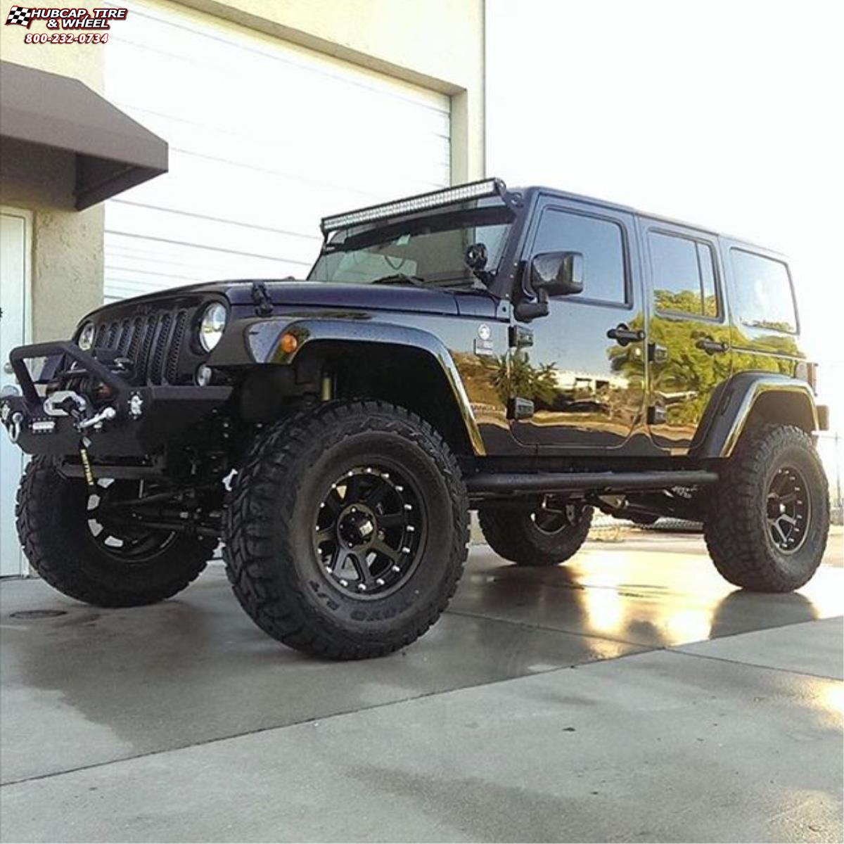 Jeep Soft Tops >> Jeep Wrangler XD Series XD798 Addict Wheels Matte Black