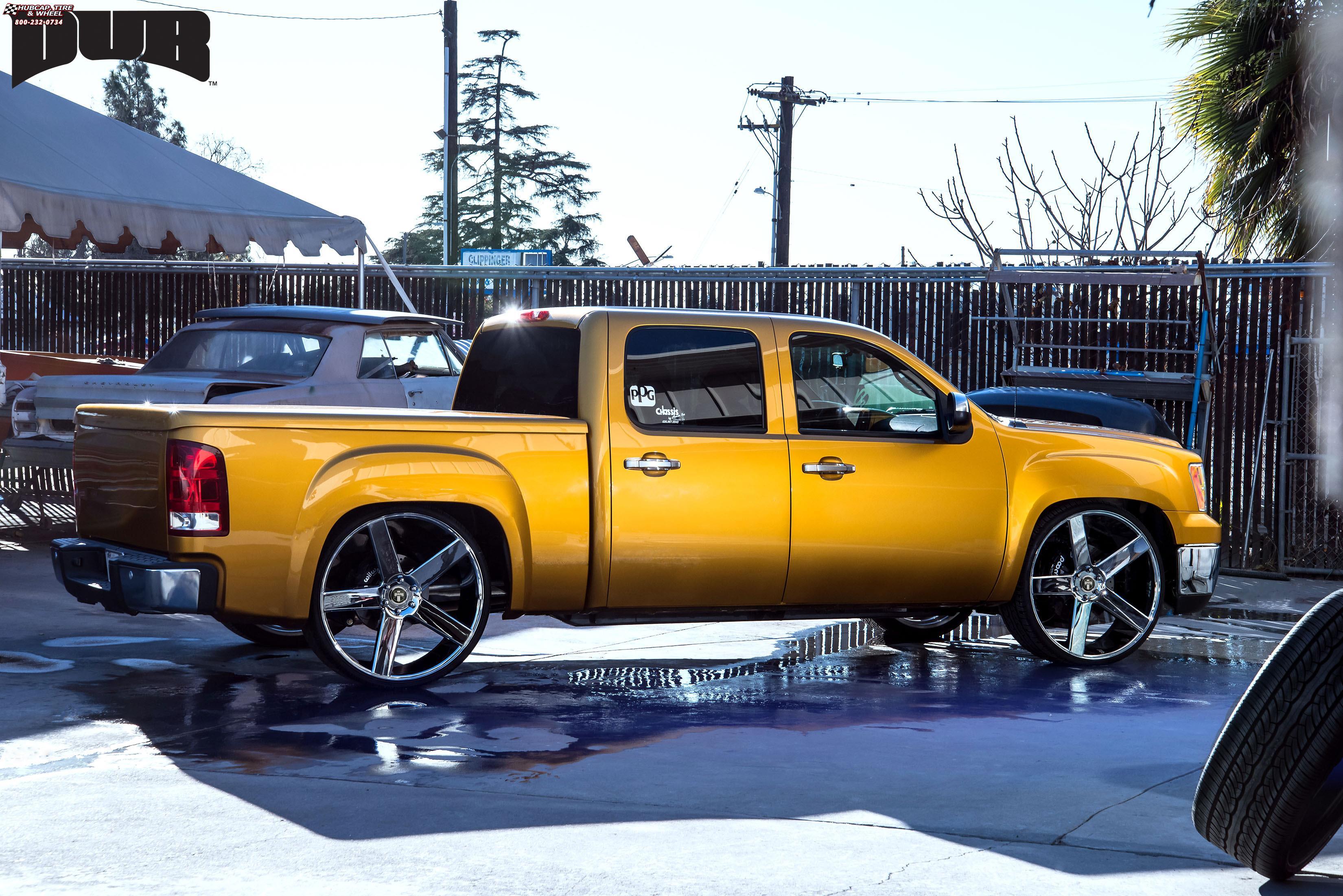 Chevrolet Silverado 1500 Dub Baller S115 Wheels Chrome