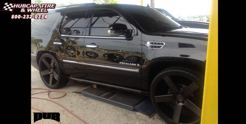 Cadillac Escalade Dub Baller - S116 Wheels Black ...